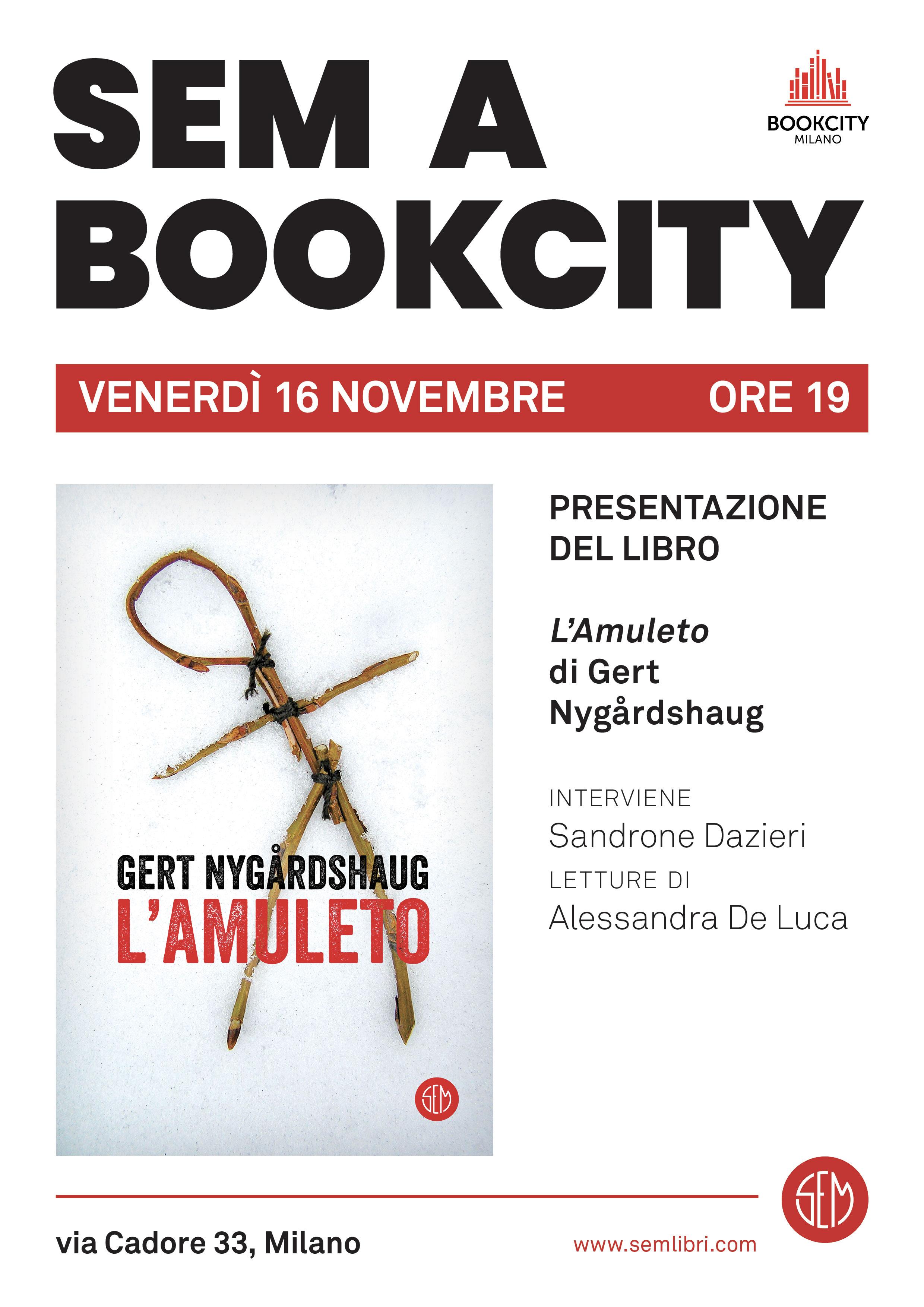 Bookcity-SEM G. Nygardshaug 16.11 h 19